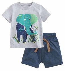 Ausstattungen des Baby-Kind-Kleidung-Jungen Baumwoll2 Stücke, die Set kleiden