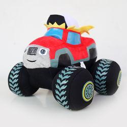 モンスター機械は子供のギフトのための車のプラシ天動物のおもちゃを詰めた