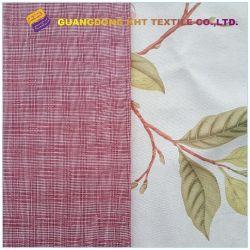 Les fils peignés 40s*32s imprimé coton tissé teint en Textile tissu du vêtement
