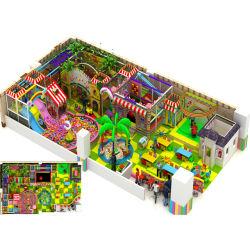 De Speelplaats van de BinnenKinderen van de Stijl van het suikergoed, het Uitvoerige Speelgoed van de Pret