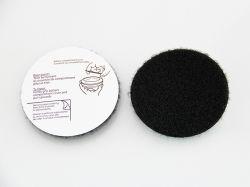 검은색 20mm 자체 접착식 후드와 루프 스티키 백 동전