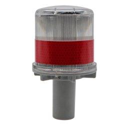 PC LED étanche de la sécurité routière trafic cône barrage routier de trafic de la lampe témoin