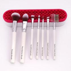 Estrella de los cosméticos Double-Colors Premium 7 PCS Conjunto de cepillos de maquillaje