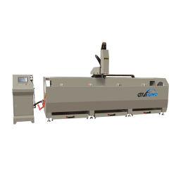 Aluminium/UPVC/PVC Automatische CNC Türverriegelung Loch Profil Bohren Fräsen Aluminium Fenstermaschine