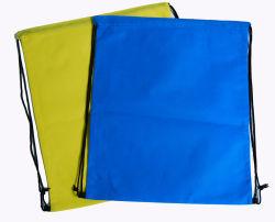 環境に優しく再使用可能な工場印刷のカスタムロゴポリエステルドローストリング袋