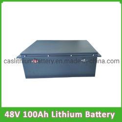 Tempo de ciclo longo 48V 100Ah Bateria de lítio para a Solar