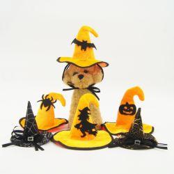 Accessoires pour animaux de compagnie de gros chien chat chiot Décoration Halloween chapeaux