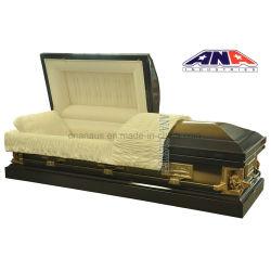 Noi cofanetto funereo del metallo del Pieta d'acciaio di stile 18 GA