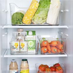 المطبخ المنزلي شفاف البلاستيك sunries منظم صندوق التخزين