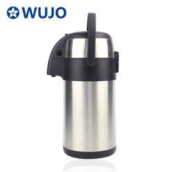 Luftpumpe-Potenziometer-Tee-Kolben-Kaffee-Edelstahl-VakuumThermos