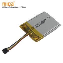 إعادة شحن بطاريات ليثيوم بوليمر Bluetooth® سماعة رأس 3.7 فولت 250 مللي أمبير/ساعة