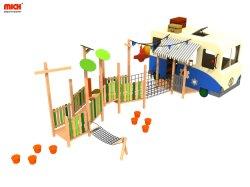 Los niños personalizado Estructura de juego de madera al aire libre