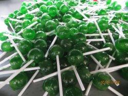 기계 형성 만드는 주문을 받아서 만들어진 딱딱한 사탕 Lollipop