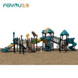 Feiyou China best selling elegante Parque Infantil, as crianças Slide combinado, Slide insufláveis série desportiva