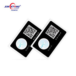 Las etiquetas RFID de rectángulo de tamaño personalizado F08 1K M1 Etiquetas NFC imprimible