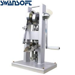 Tdp Swansoft-0 Tablet Pressione o lado operado pílula pílula Mini máquina de fazer testes de máquina de Imprensa Tablet Pressione Pronto Stock