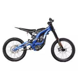 Bici trasversale elettrica nera senza spazzola del motociclo di salto E/Motorcross della sporcizia di Coolster Orion del motore di Sur Ron Lightbee 5400W per gli adulti