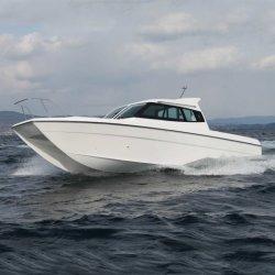 7.85м алюминия на стабильные выносливость рыболовного судна частоты вращения коленчатого вала двигателя со стороны пассажира