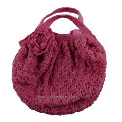 Gran Bolsa de lana tejido