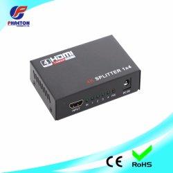 يدعم مقسم HDMI رباعي الاتجاهات 3D و4K