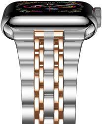 高品質のApple時計バンドLink Bracelet時計バンドBlack SilverローズGold