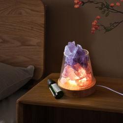 프로모션 아이템용 LED 아로마 테라피 크리스탈 램프
