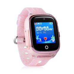 As crianças a pôr à prova o localizador de localização GPS Anti Perdido Smartwatches filhos vêem Phone para Android Ios
