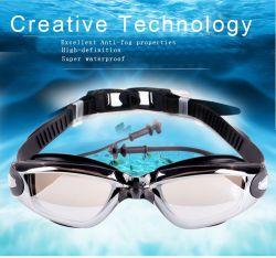 2021 Advanced anti brouillard meilleure vision de nuit des verres de lunettes de natation étanche