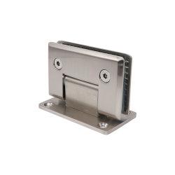 Ângulo Direito de alta precisão da Braçadeira de vidro para banheiro Porta de vidro
