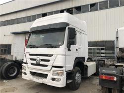 HOWO for Africa Sinotruk 6X6 6X4 초침 Sinotruck China 시장 디젤 Euro II 중고 트랙터 트럭