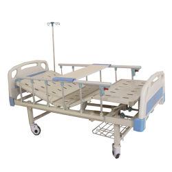 Médicos de alta qualidade Manyal Multi Funcitons Rodar dobra de Enfermagem do paciente na UTI do Hospital Eléctrico Cama de enfermagem