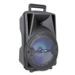 Bewegliches mobiler Computer-Sport-Farben-Licht Boombox 10 Zoll-drahtlose Laufkatze-lauter Audiolautsprecher