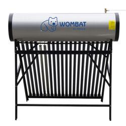 太陽熱温水器を用いた水加熱システム