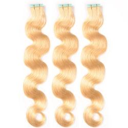الشريط الشعر الشعر الشعر النفيش الشعر تمديدات الشعر العذراء المستقيم 100 ٪ مصنع الشعر البشري سعر الجملة 10 أجهزة كمبيوتر لكل مجموعة