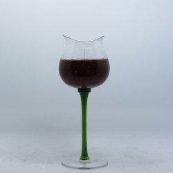 Etiqueta de OEM decoração China Cup Vela Gel no copo de vidro