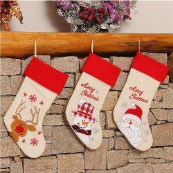 Fun Fashion Kerst Decoratie Santa Sokken Kerstcadeau voor Nieuw Jaar Candy Gift Tassen for Kids