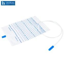 Fabricante médicos estériles desechables estériles quirúrgico orina económicos bolsa de drenaje fabricante sin salida de la casa del Hospital de PVC de grado médico