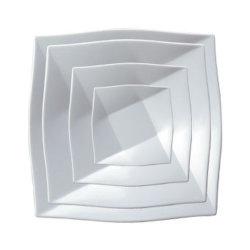 """De Melamine de Vierkante Plaat van 100% Dinnerware- van de """"Onzichtbare Reeks"""" (WT4112)"""