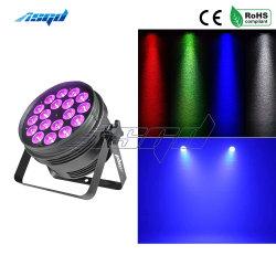 Het LEIDENE RGBW van Asgd 18X10W 4in1 Licht van het PARI kan de Verlichting van het Effect opvoeren