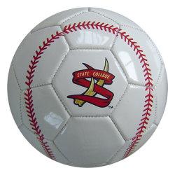 Grootte 5 pvc Soccerball van de douane Pu Prining van de Voetbal van Handsewn van de Bevordering