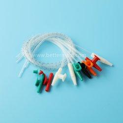 أنبوب شفط قسطرة الشفط الطبية القابلة للاستخدام مرة واحدة من حجم Fr18