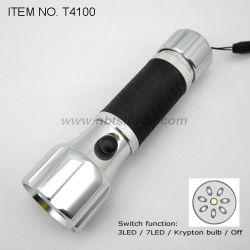 Lampe torche à LED en alliage aluminium (T4100)