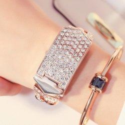 La vente de diamants de la mode le plus récent à chaud de la conception de bijoux cadeau femmes Quartz Bracelet Watch