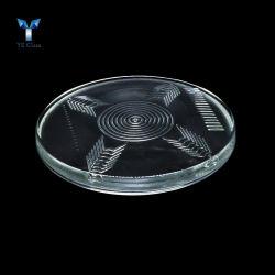 Vender a quente do molde Die-Casting pressionado a tampa da lâmpada de vidro para iluminação de exterior