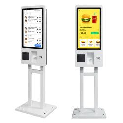 Incorporado com impressora de câmara scanner teclado cartão pagamento Encomenda automática Quiosque para aplicação