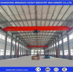 CE/SGS 3t 5t 10t 15t Controle Remoto de Equipamentos de construção da fábrica de Viagens Eot Oficina simples Duplo Feixe Viga Guindaste com o Guincho máquinas de elevação