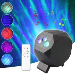 Les enfants adultes salle de cinéma maison décoration lumière Projecteur LED Cadeau Aurora Nebula Lumière de Nuit des étoiles Sky Light projecteur rotatif