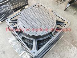 الصينية Foundry En124 D400 حديد الدوق 850 غطاء فتحة
