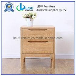 Деревянный стол в ночное время, ночь стоять 2 выдвижной ящик дубовый стол со стороны гостиной ночь стоять на прикроватном мониторе таблица Домашняя мебель