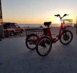 Les personnes âgées de 48 V E-Tricycle